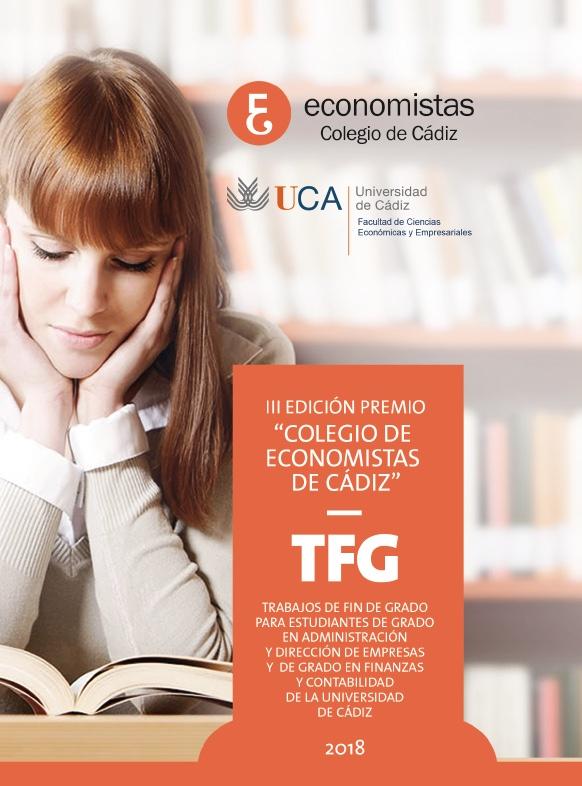 """III Edición del Premio """"Colegio de Economistas de Cádiz al mejor TFG"""""""