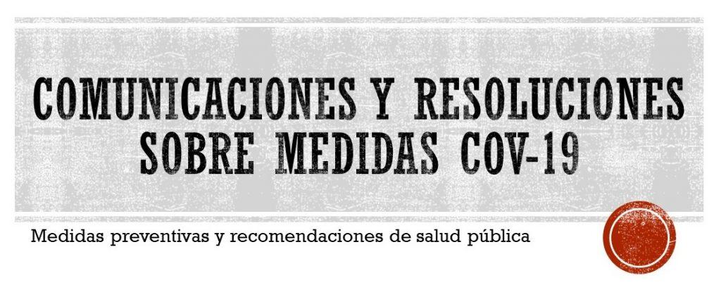 IMG Comunicaciones Medidas COV-19