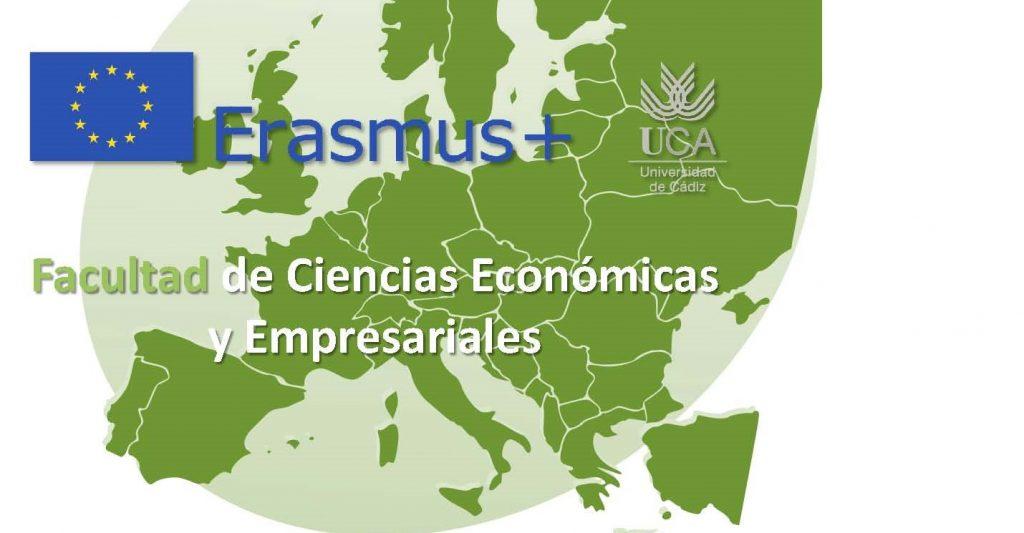 Convocatorias de movilidad 2020/2021 ERASMUS+ KA103 en plazo de solicitud